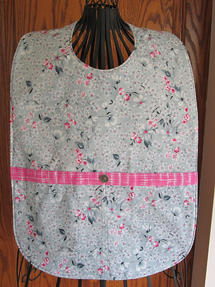 Floral with Pink - Adult Clothing Protector