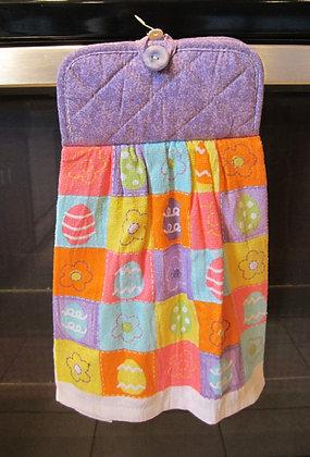Easter Blocks (Lav)  - Towel