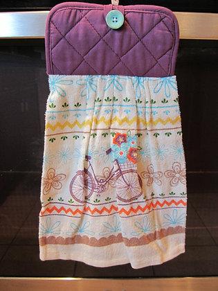 Bike with Basket - Towel