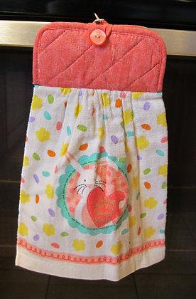 copy of Bunny Heart (Pink)  - Towel