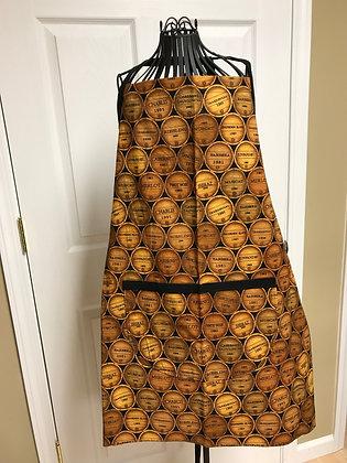 Wine Barrels - Chef Apron