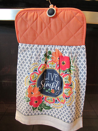 Live Simply - Towel