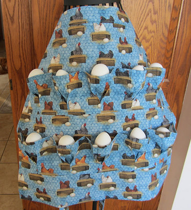 Egg Laying Box - Egg Gathering Apron