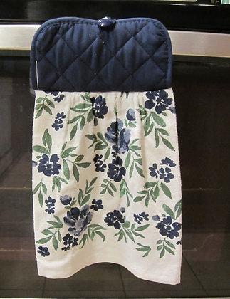 Blue Floral - Towel