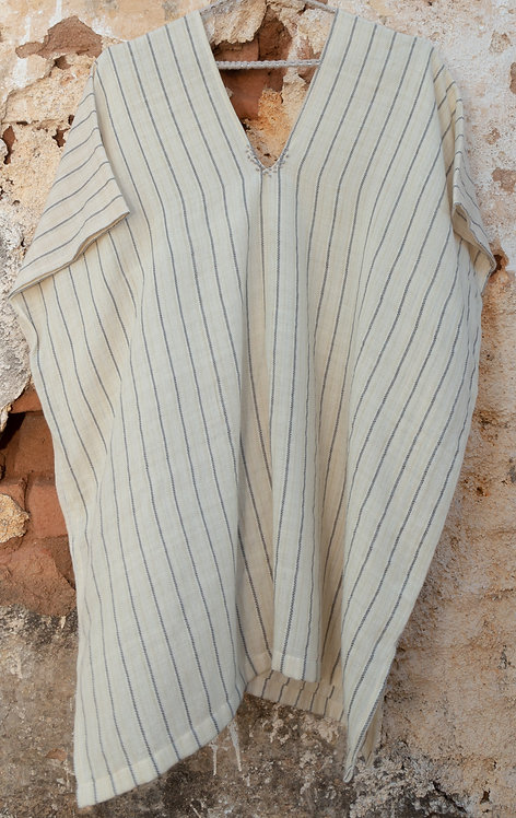 tunica curta tear listra