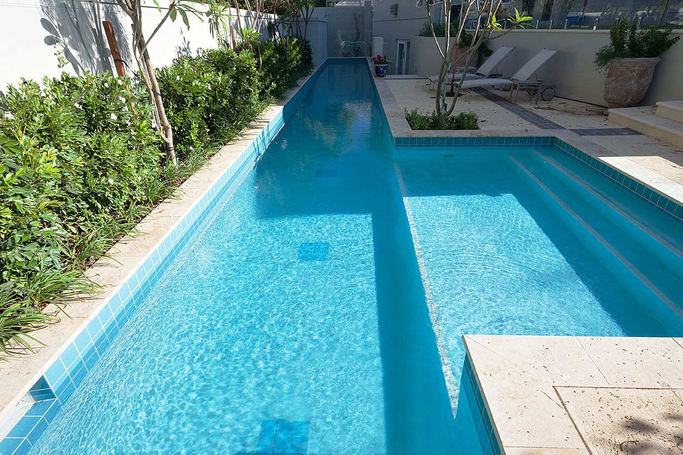 perth concrete pools award winning quality at an affordable price lap pool in peppermint grove. Black Bedroom Furniture Sets. Home Design Ideas