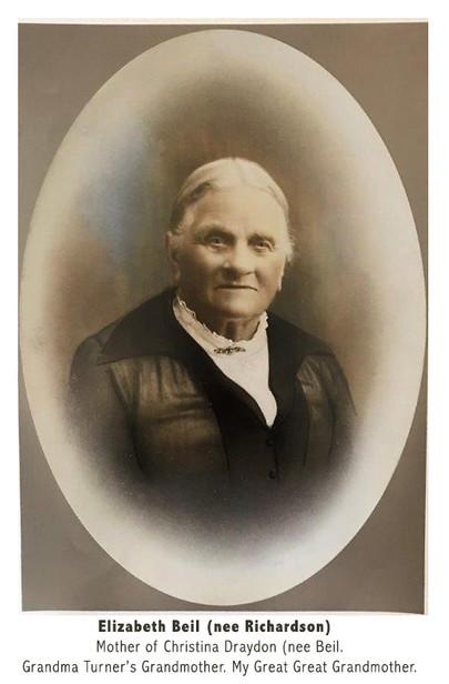Elizabeth Beil (nee Richardson)
