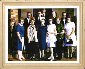 Grandma Margaret Turner & family