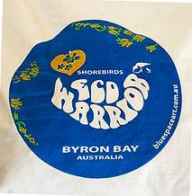 Blue Space Art Christine Turner Coles Graphic Design Eco Warrior Bag Byron Bay