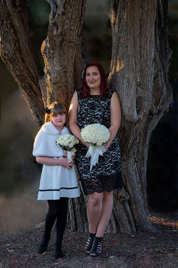 The Bridesmaid & Flowergirl