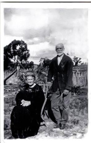 Elizabeth nee Stormer & John Richard Turner