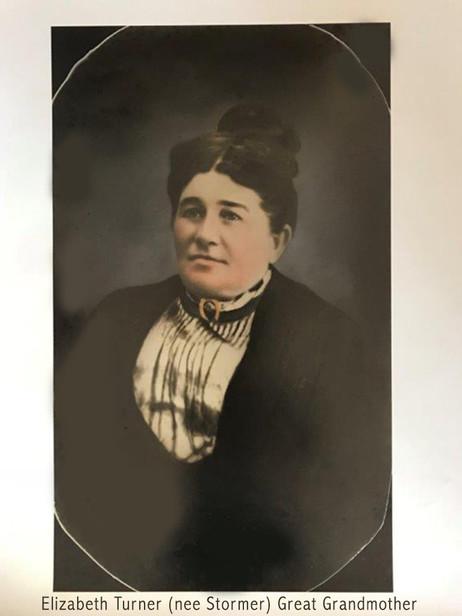 Elizabeth Isabella Turner (nee Stormer)