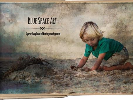 Blue Space Art