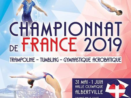 Championnats de France à Albertville