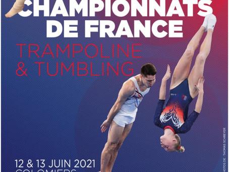 Championnat de France Elite Trampoline/Tumbling à Colomiers (31)