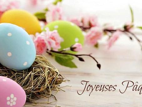 Joyeuses fêtes de Pâques à tous ! 🐣🥚
