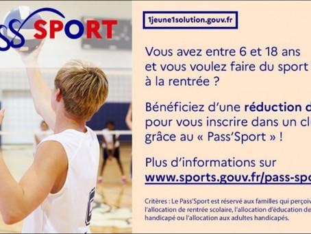 Pass'Sport ! Réduction 50€