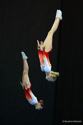 Aely et Pauline vice championnes de Fran