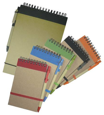Top Tone Notebook & Pen Set