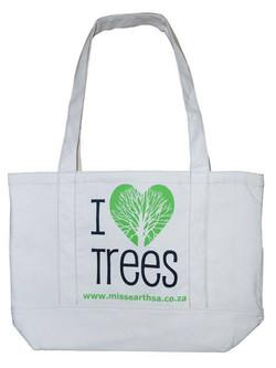 Natural Cotton Shoulder Bag