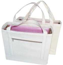 Cotton & Re-Plastic Shoulder Bag