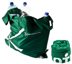 Recycled Plastic Foldable Bag