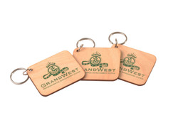 Sustainable Wooden Keyrings