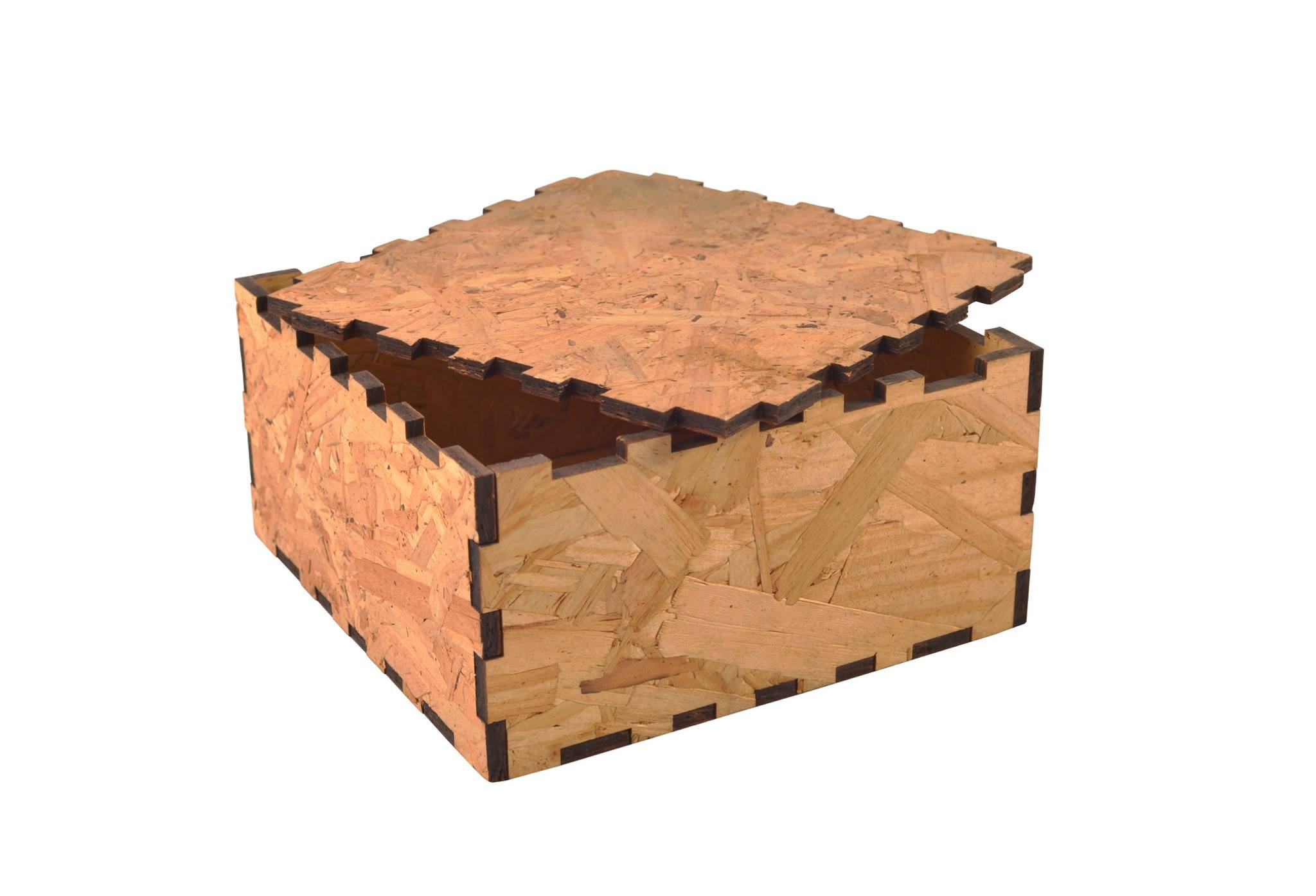 Wooden Presentation Box - Square #1