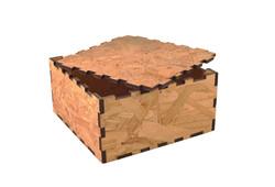 Wooden Presentation Box - Square #1