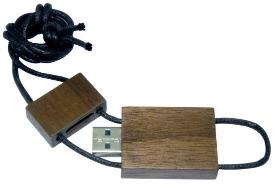 "Wooden ""Rope"" USB"