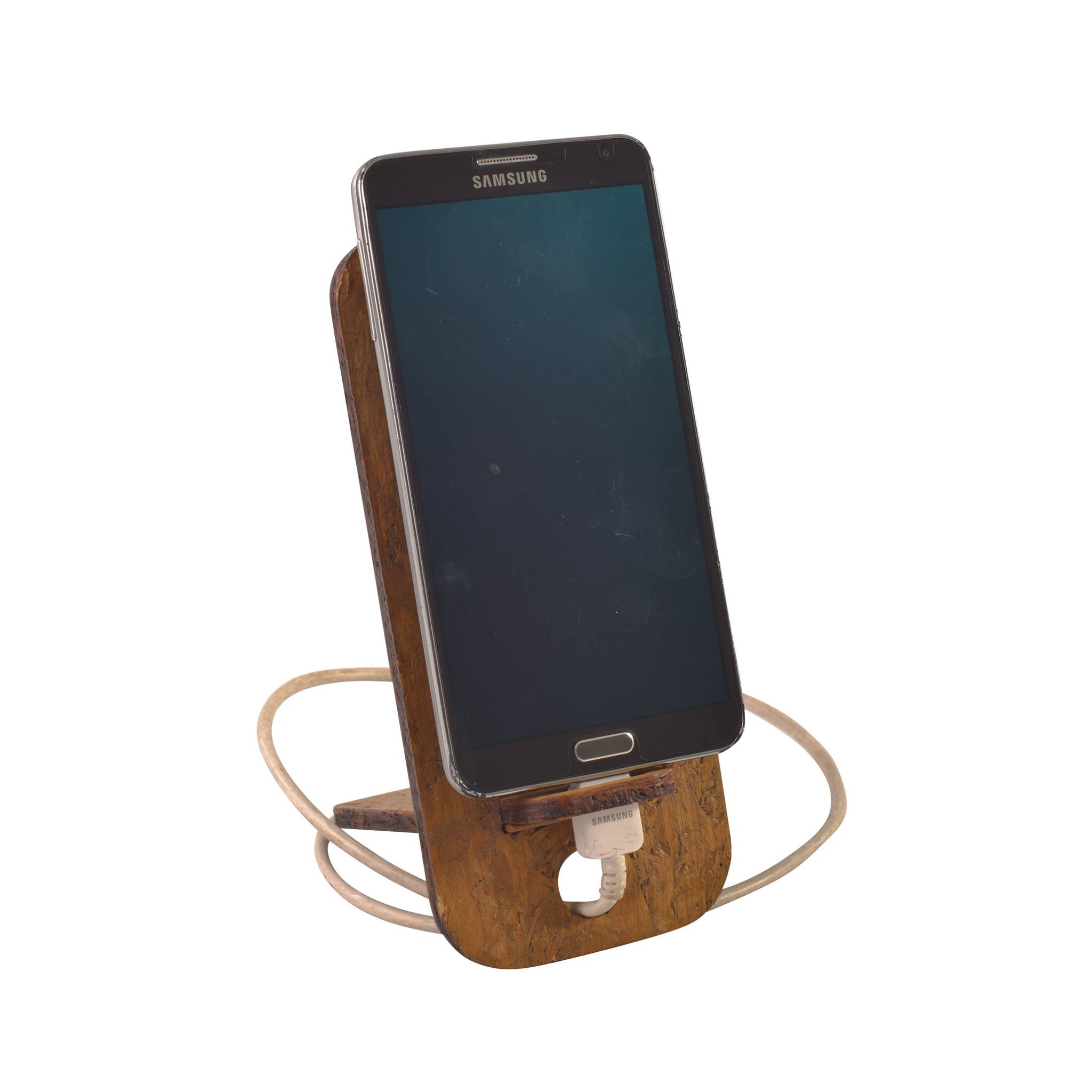 Wood-Fibre Cellphone Stand