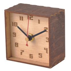 Wooden Desktop Clock - Bendable Back