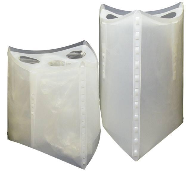Recycled Plastic Tri-Arc Bin
