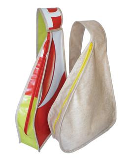 Recycled Plastic Messenger Bag