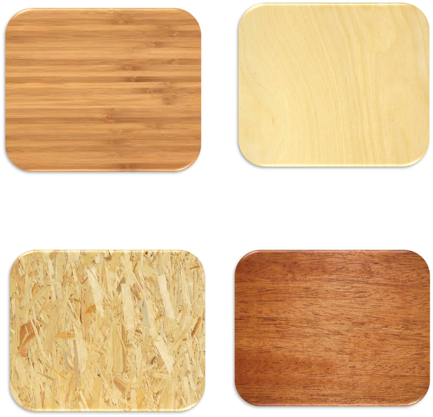 Wooden Mousepads / Placemats