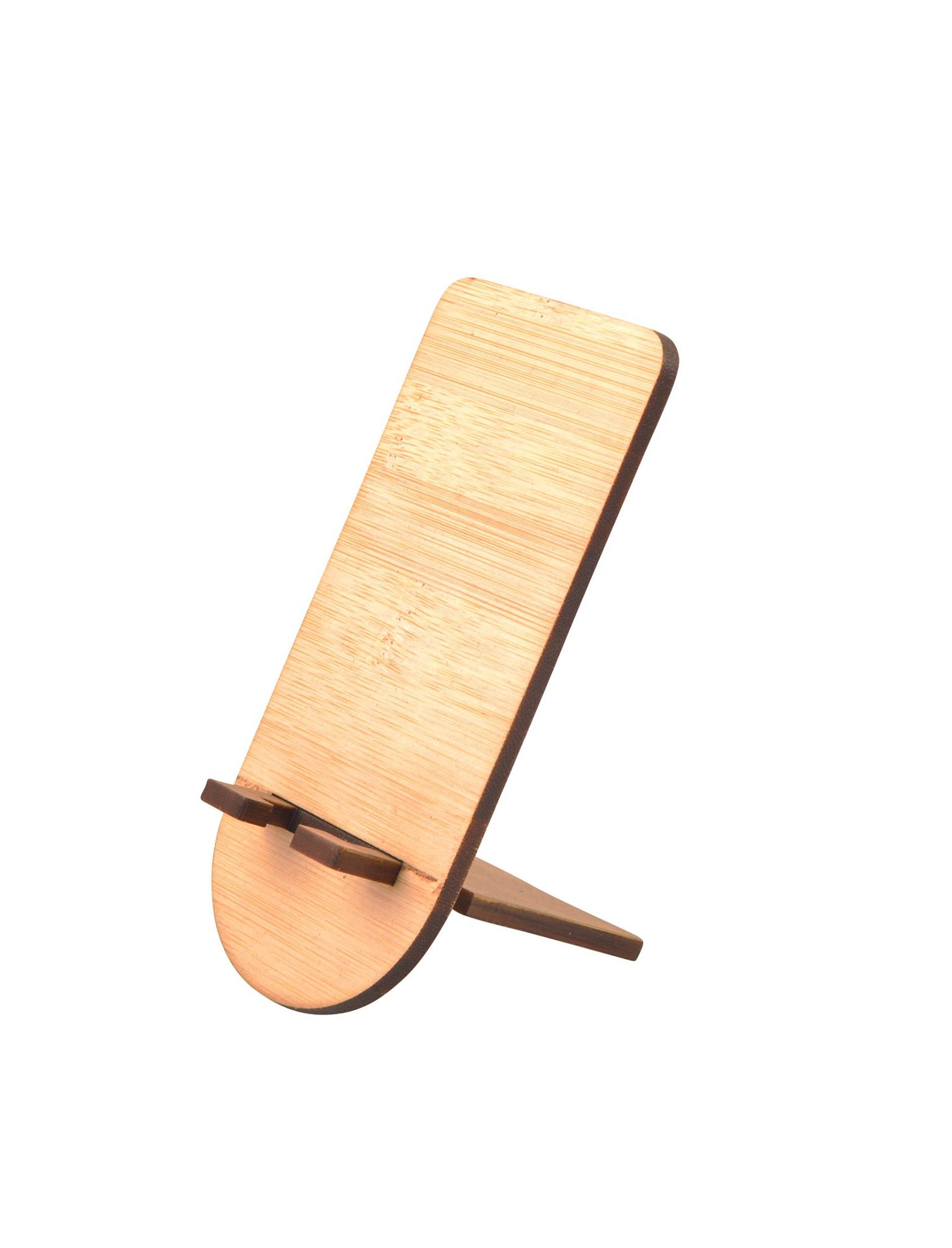 Bamboo Cellphone Stand