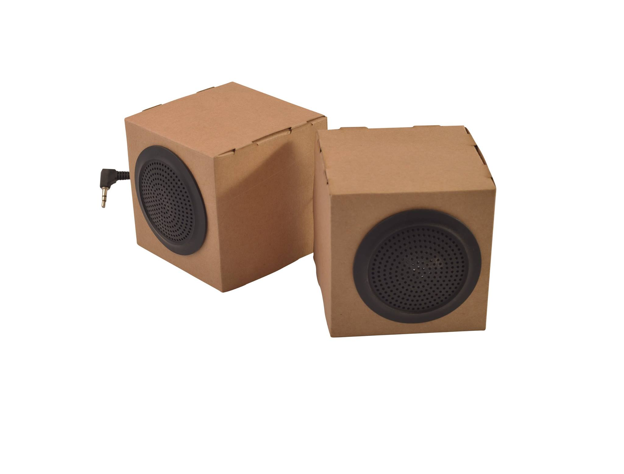 Recycled Paper Desktop Speakers