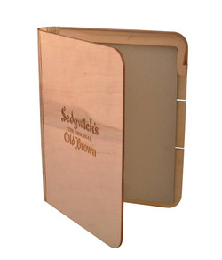 Sustainable Wooden Memopad Cover