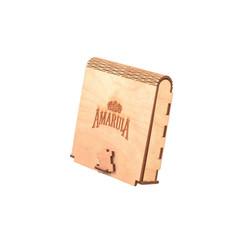 Wooden Presentation Box - FoldingLid