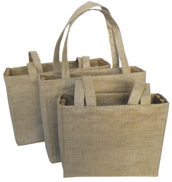 Natural Hessian Shopper Bag