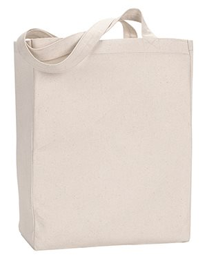 Natural Cotton Tote Bag (Gusseted)