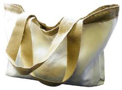 Cotton & Hessian Deluxe Shoulder Bag