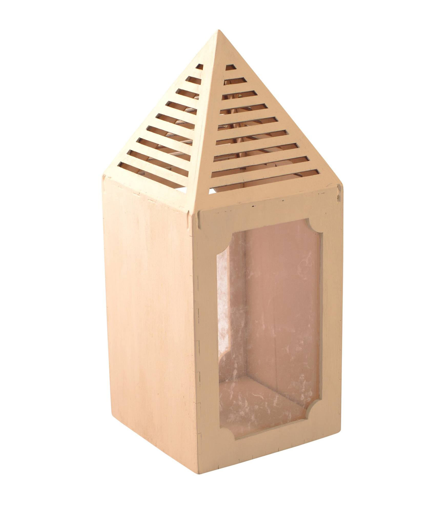 Prestige Wooden Candle Holder