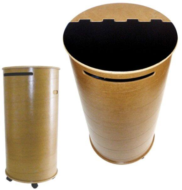 Wood Fibre Recycle Bin (Custom:900)