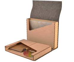 Bamboo & Wooden Conference Set Box