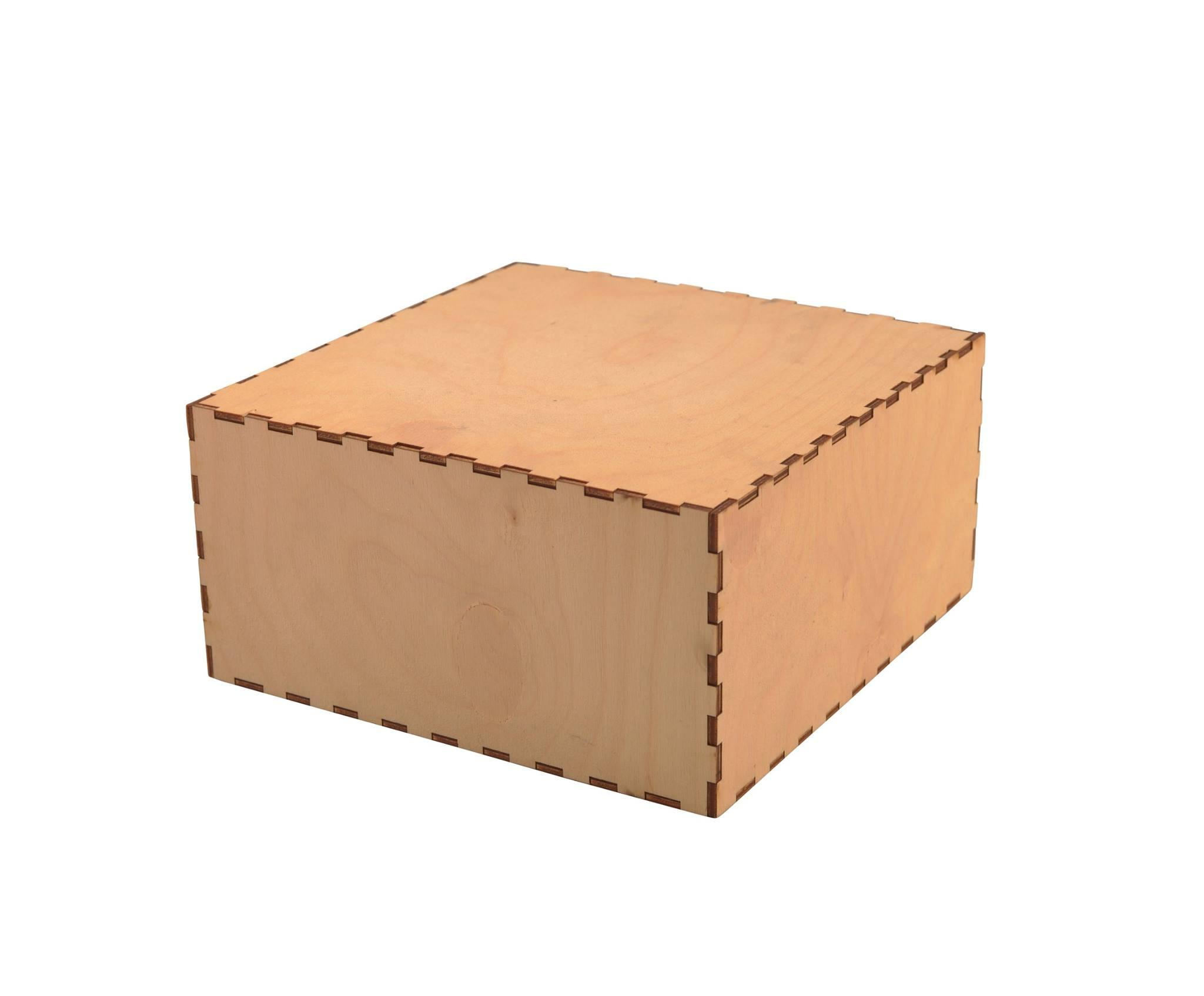 Wooden Presentation Box - Square #2
