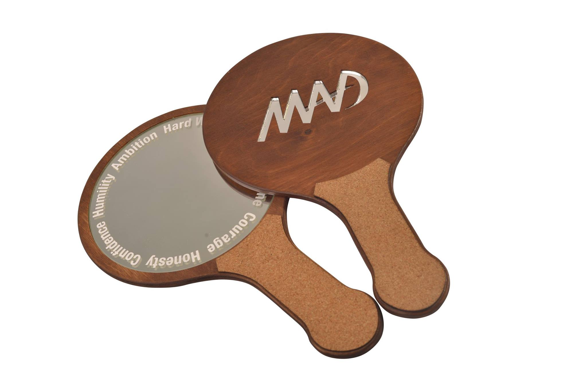 Sustainable Wooden Hand Mirror