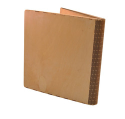 Sustainable Wooden Book Cover