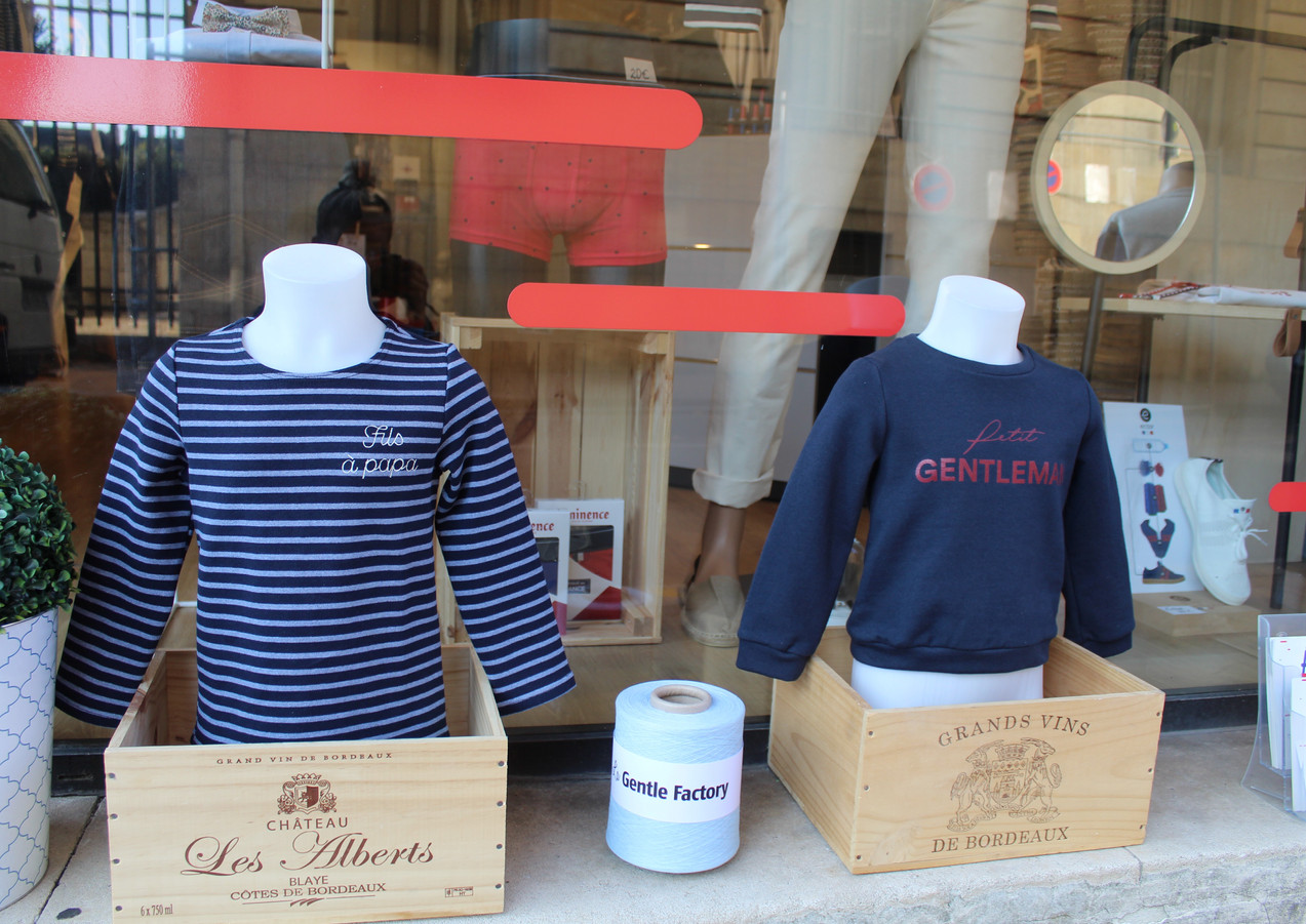 Marinière et sweat enfant Made in France