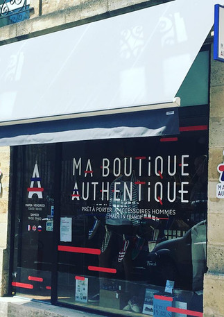 Devanture - Ma Boutique Authentique